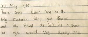 Handwriting after Morrells