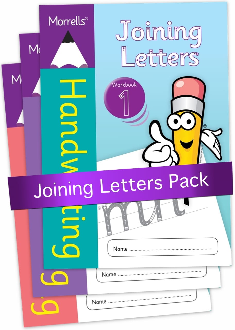 Morrells Joining Letters workbook pack