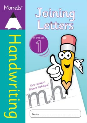 Morrells Joining Morrells Letters workbook 1 cover