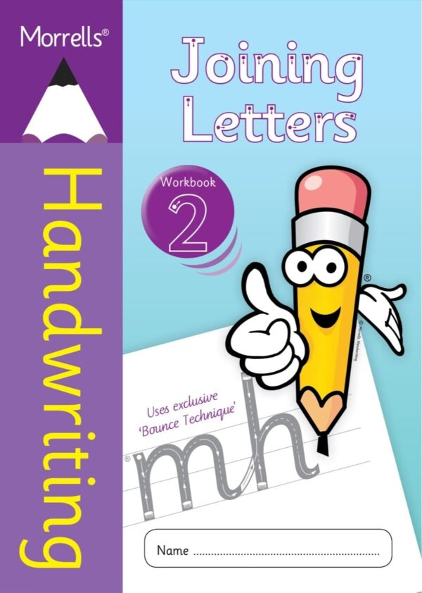 Morrells Joining Morrells Letters workbook 2 cover