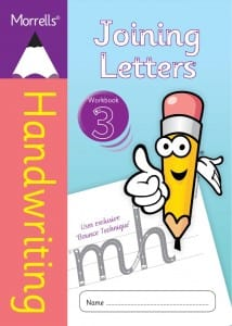 Morrells Joining Morrells Letters workbook 3 cover