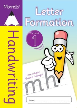 Morrells Letter Formation workbook 1 cover