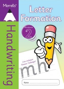 Morrells Letter Formation workbook 2 cover