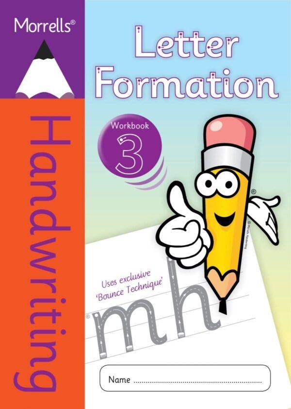 Morrells Letter Formation workbook 3 cover