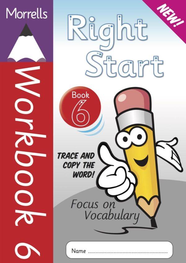 Right Start Workbook 6 cover