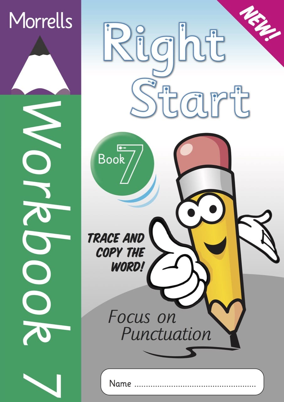 Right Start Workbook 7 cover