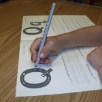 correct handwriting grip
