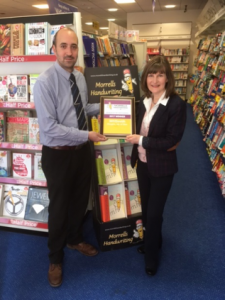 Store Manager at the WHSmith Douglas branch, Simon Nettle