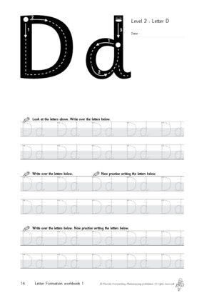 Morrells Letter Formation book 1 free sample