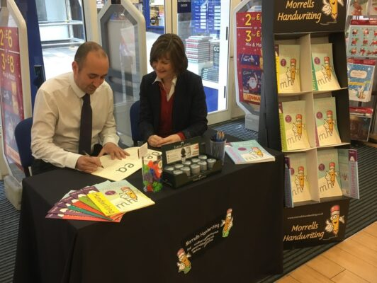 Morrells Handwriting workshop WHSmith