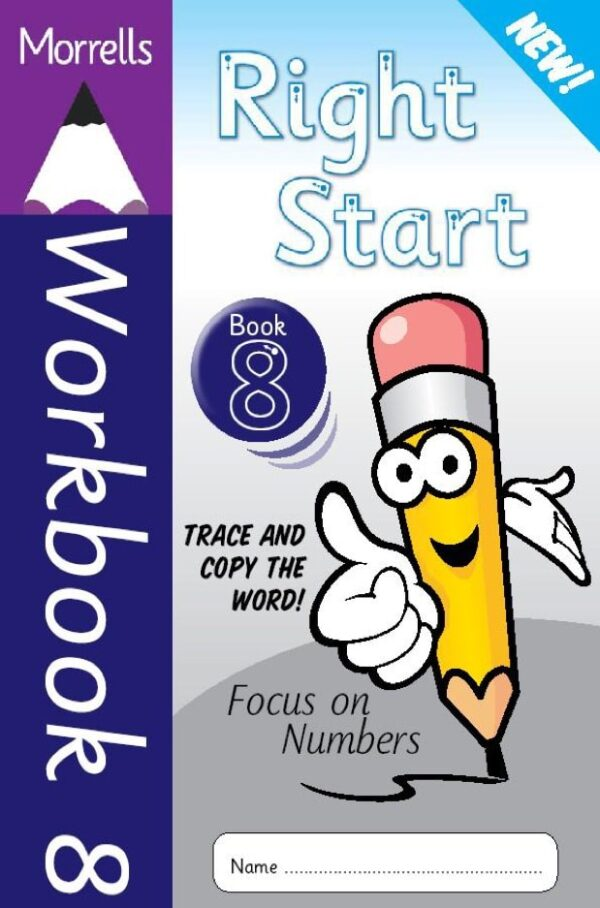Right Start Workbook 8 cover