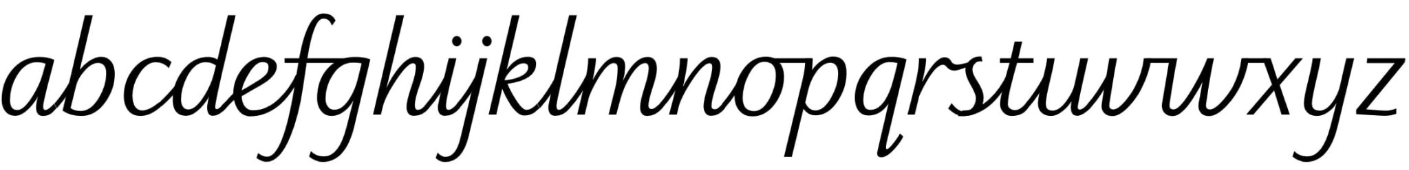 Sassoon font example