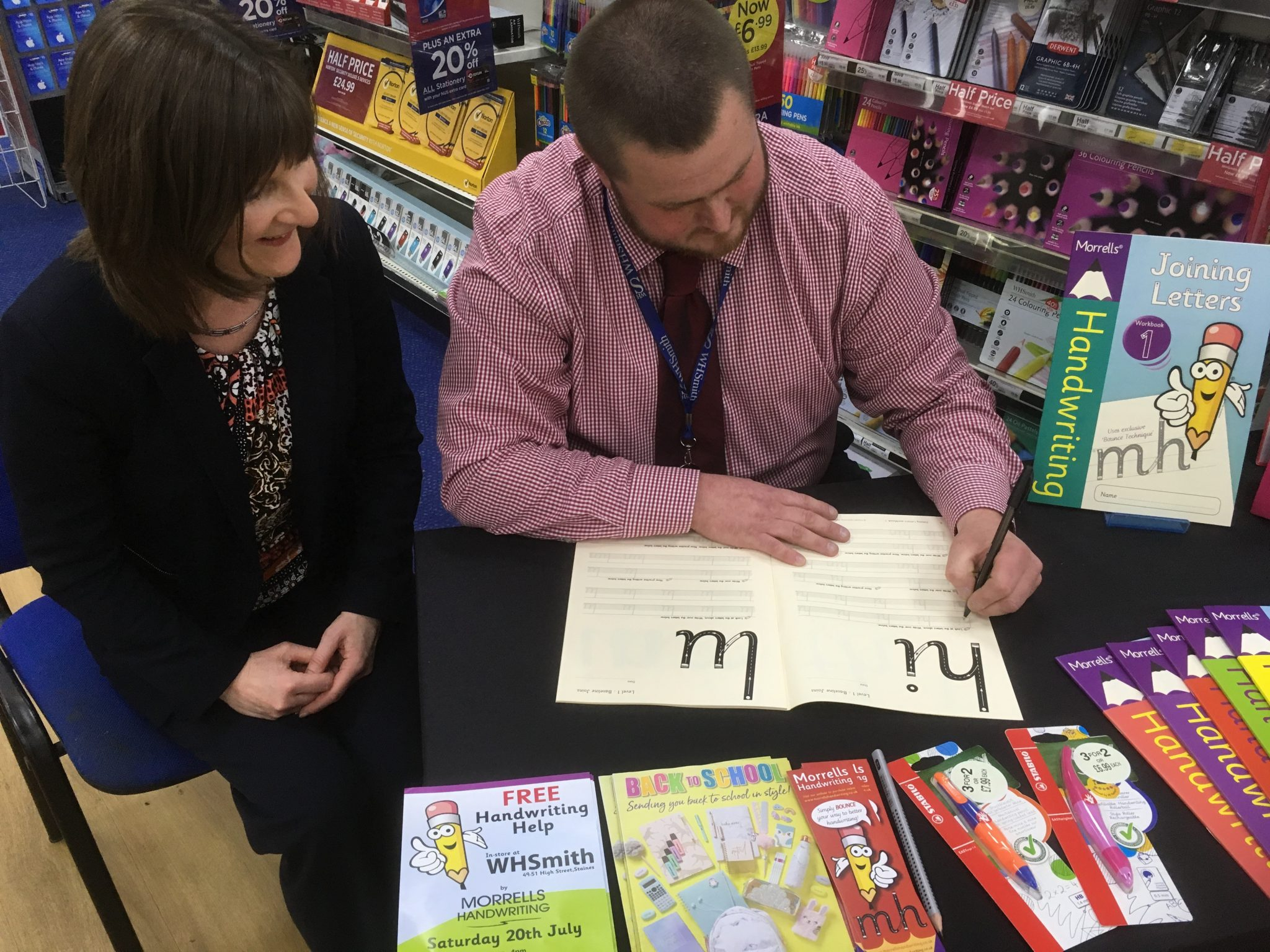 WHSmith Staines workshop