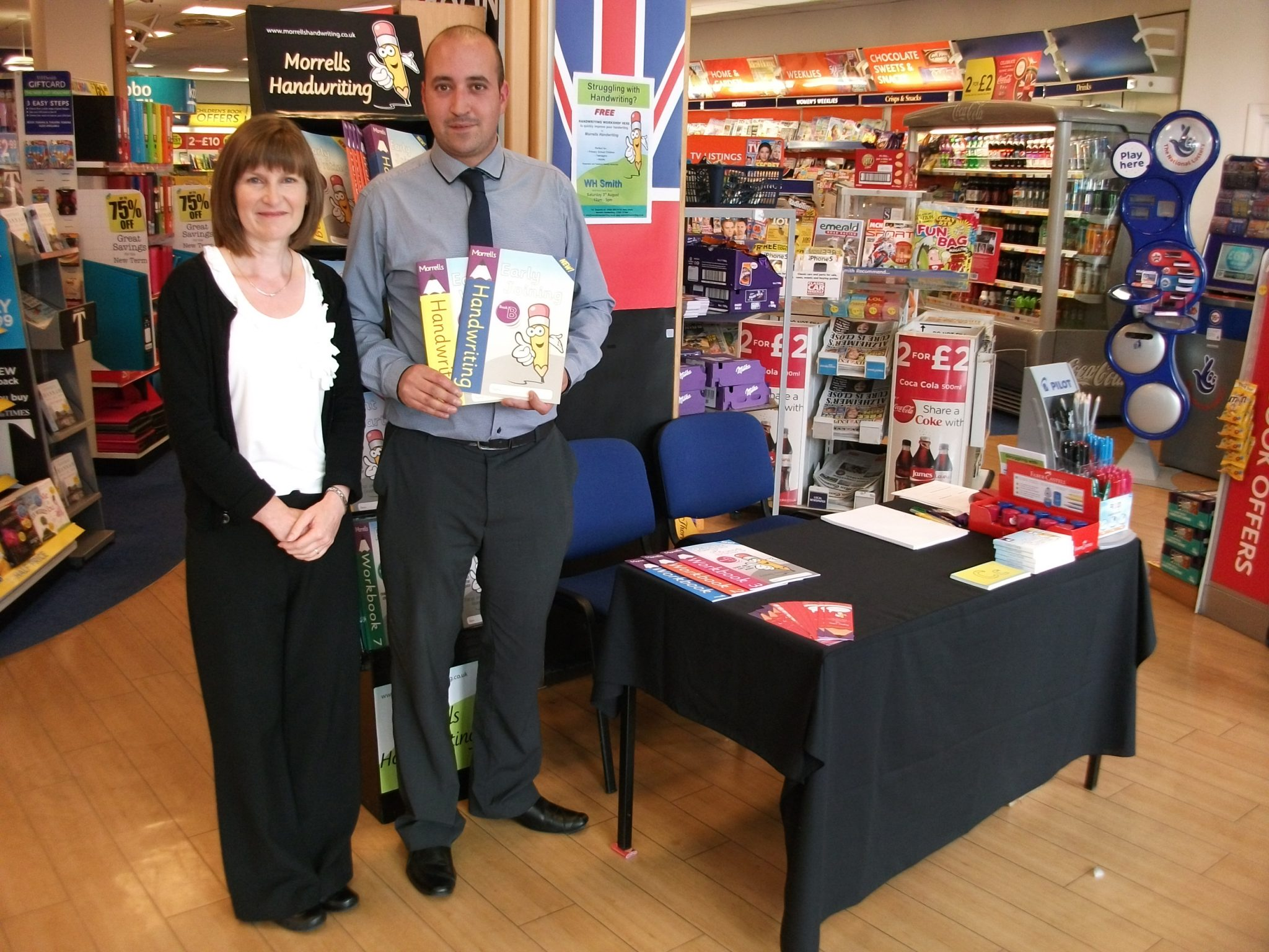 WHSmith handwriting workshops