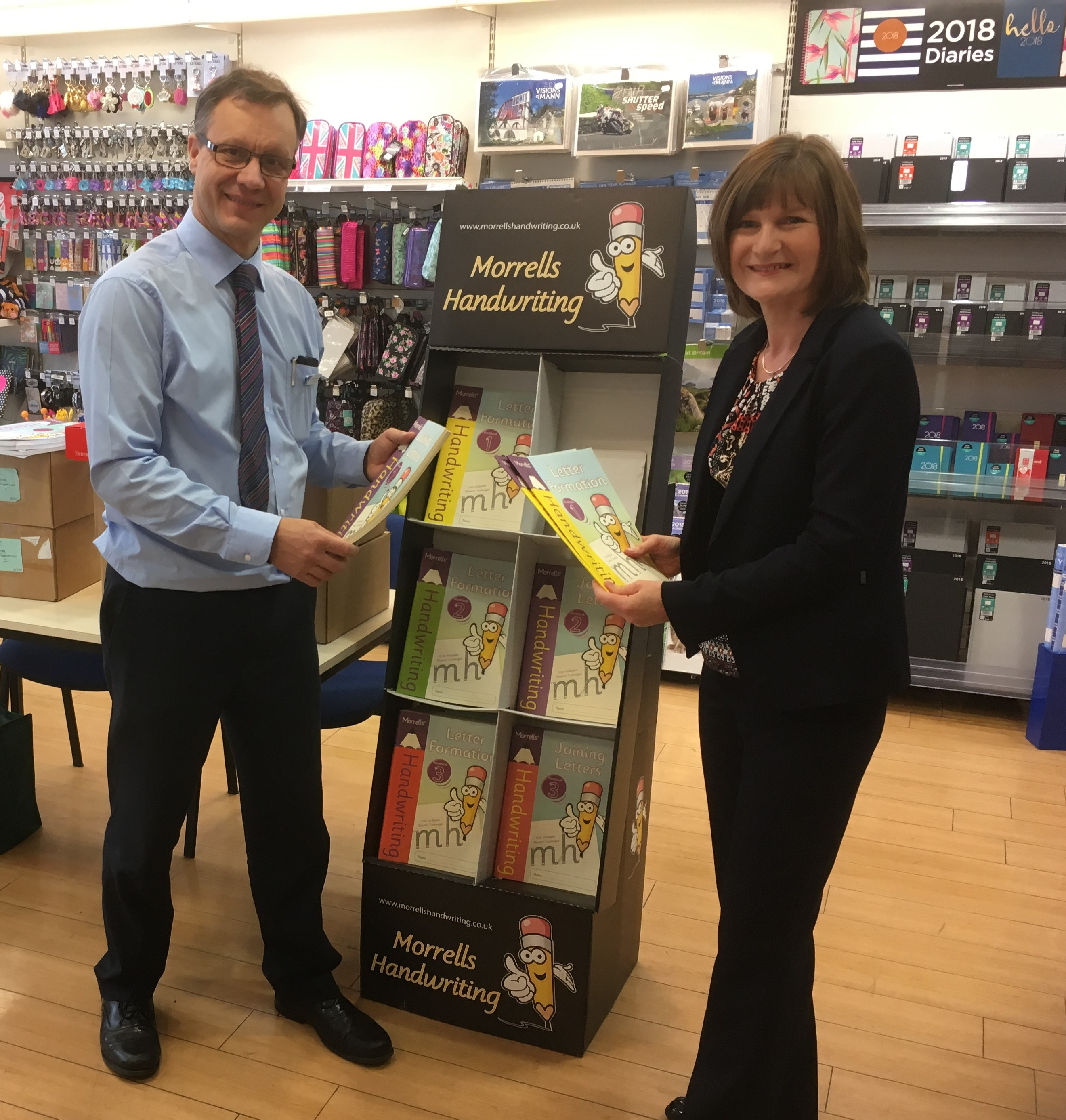 WHSmith Handwriting workshop Isle of Man