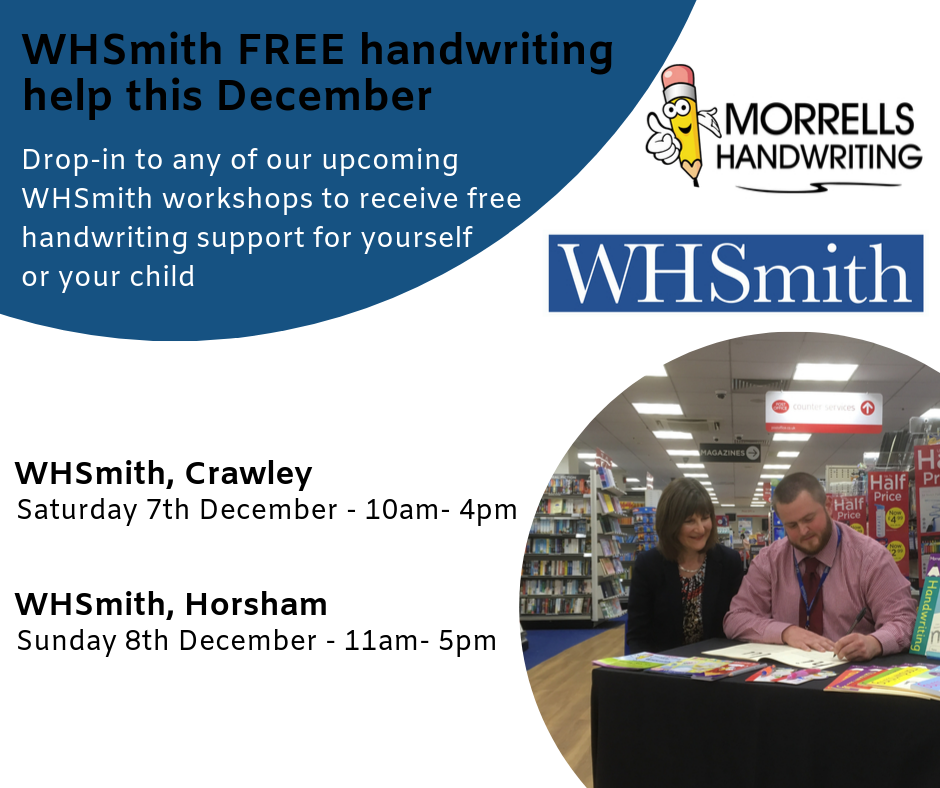 WHSmith Handwriting Roadshow December