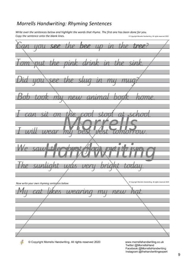 Morrells JL4 Sample page 9