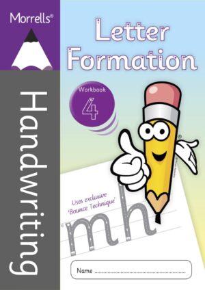 Morrells Letter Formation workbook 4 cover