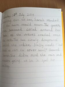 Y2 handwriting July 2019