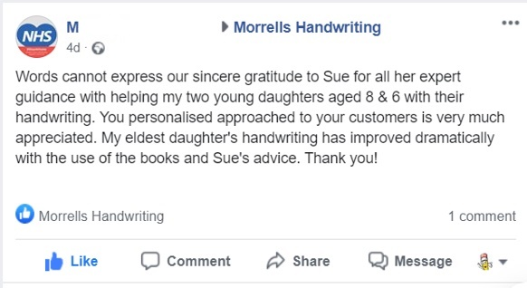 Morrells Feedback FB Aug 2020 Pic 2