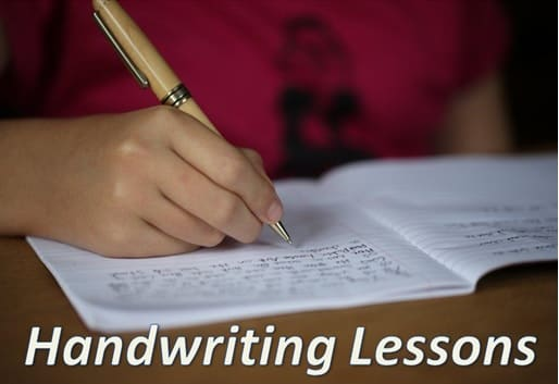 Handwriting Lessons Website 2020