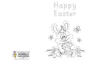 Morrells Handwriting Easter Cards 2021 Number 01