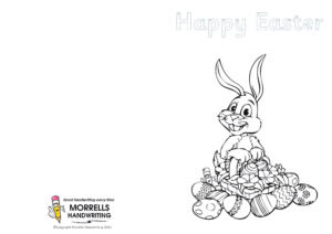 Morrells Handwriting Easter Cards 2021 Number 02