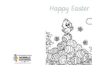Morrells Handwriting Easter Cards 2021 Number 03
